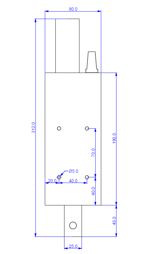 z axis plasma lifter drawing
