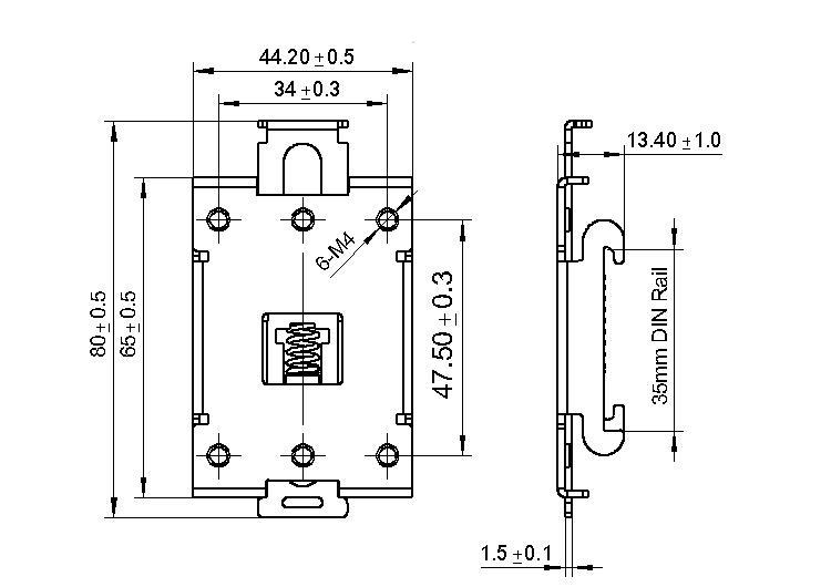ssr relay holder