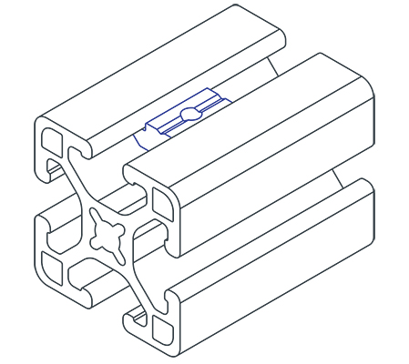 t slot nut mounting 1