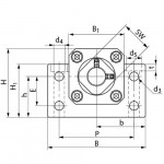 Block-Bearing-Units-BK-drawing